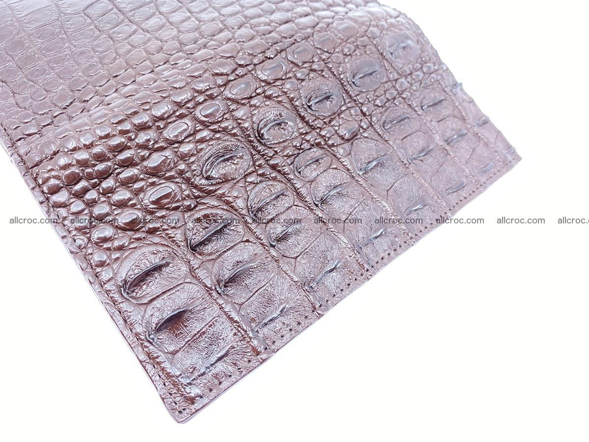 Crocodile skin long wallet 488 Foto 10