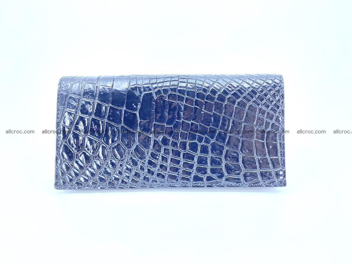 bifold long wallet from crocodile skin 484 Foto 1