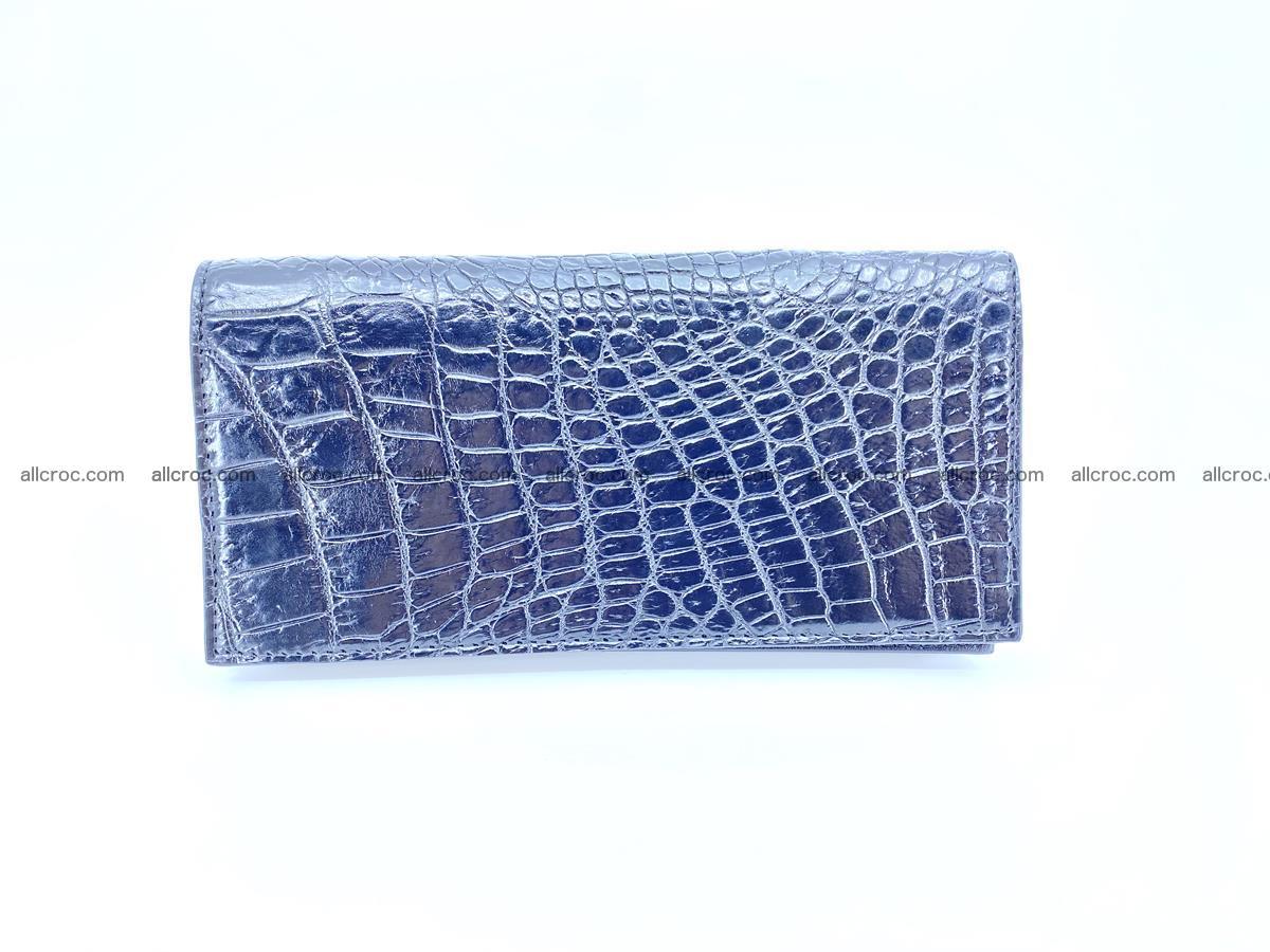 bifold long wallet from crocodile skin 484 Foto 2