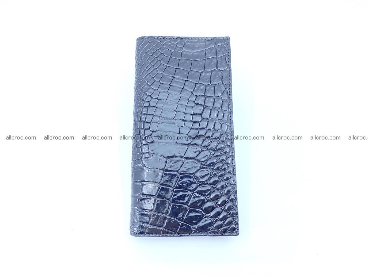 bifold long wallet from crocodile skin 484 Foto 5