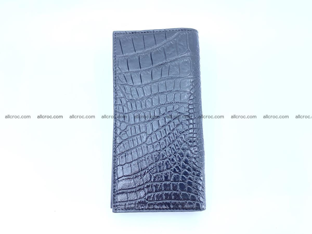 bifold long wallet from crocodile skin 484 Foto 6