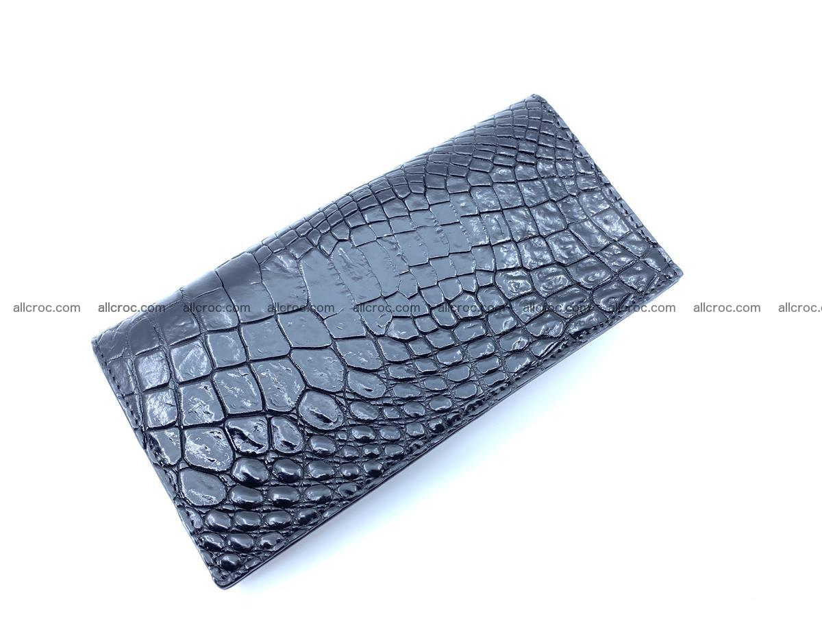 bifold long wallet from crocodile skin 484 Foto 3