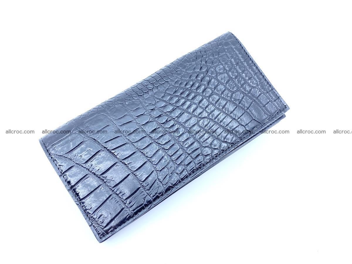 bifold long wallet from crocodile skin 484 Foto 4