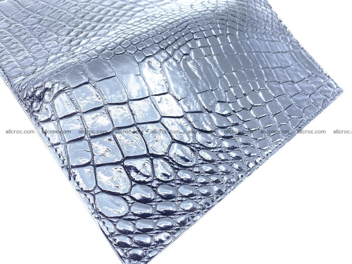 bifold long wallet from crocodile skin 484 Foto 9