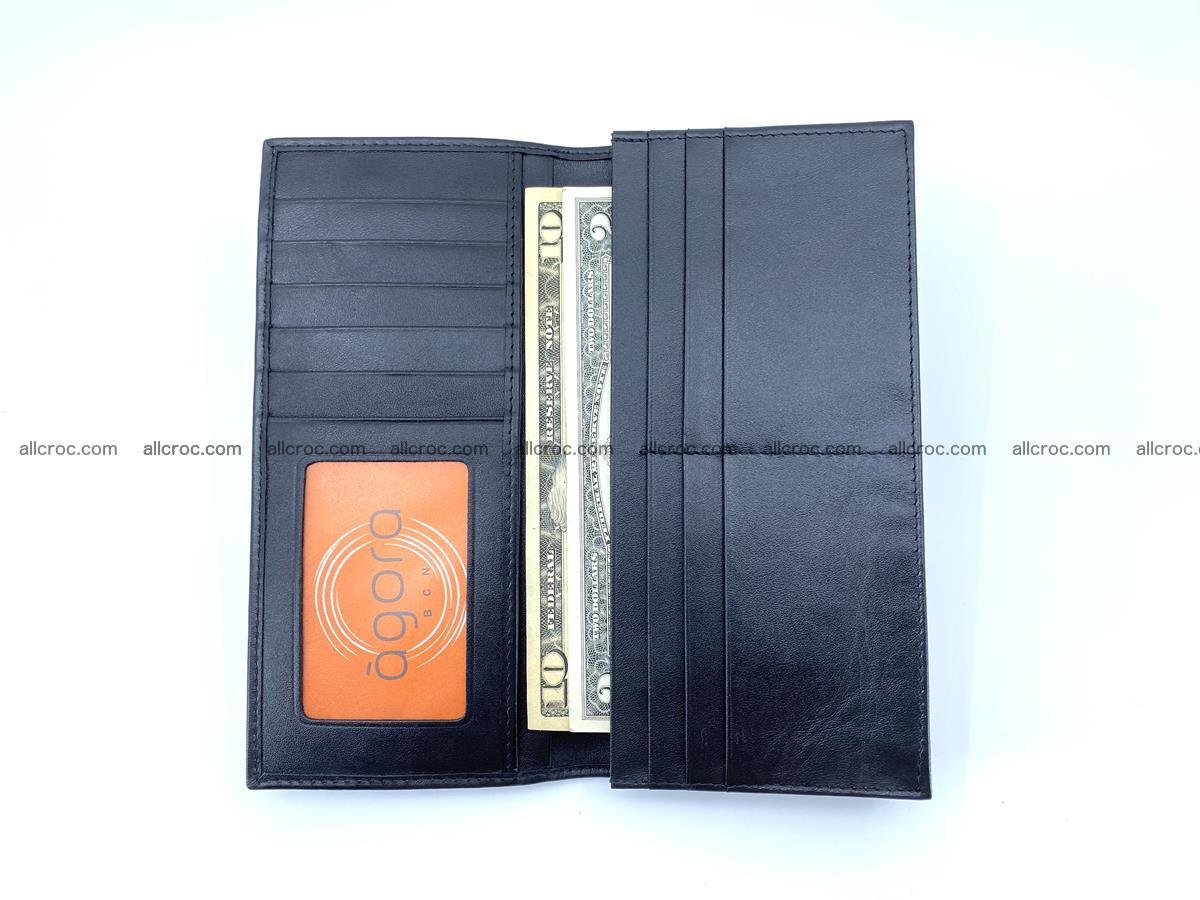 bifold long wallet from crocodile skin 484 Foto 11
