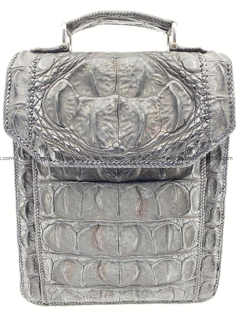 Crocodile leather handbag for men 900 Foto 14