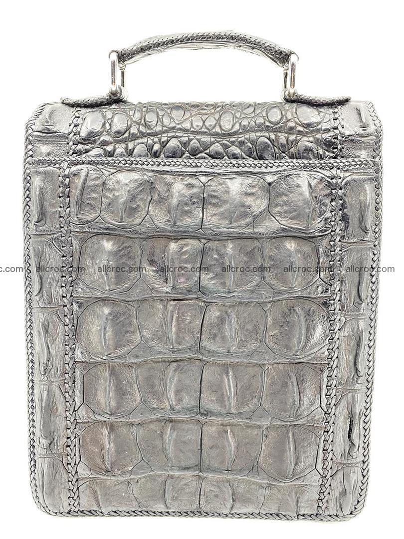 Crocodile leather handbag for men 900 Foto 15