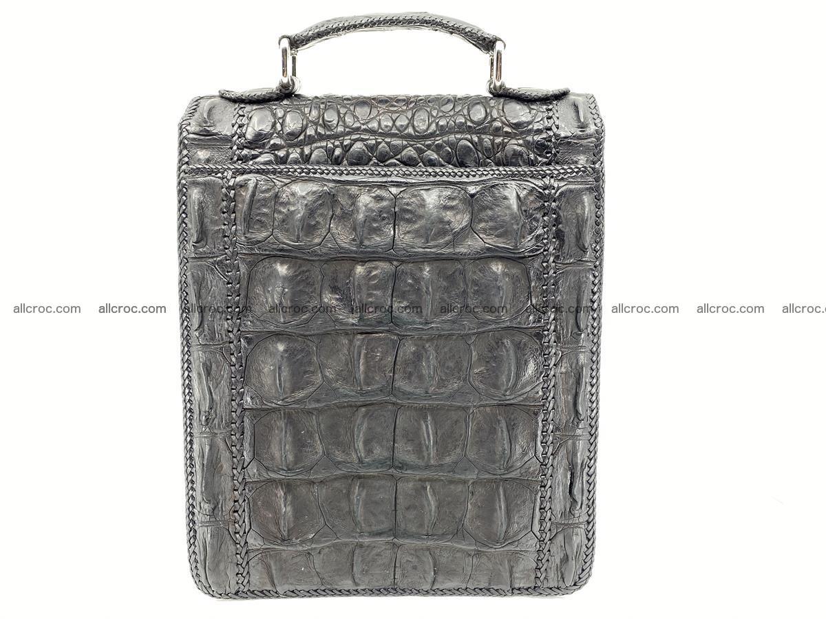Crocodile leather handbag for men 900 Foto 1