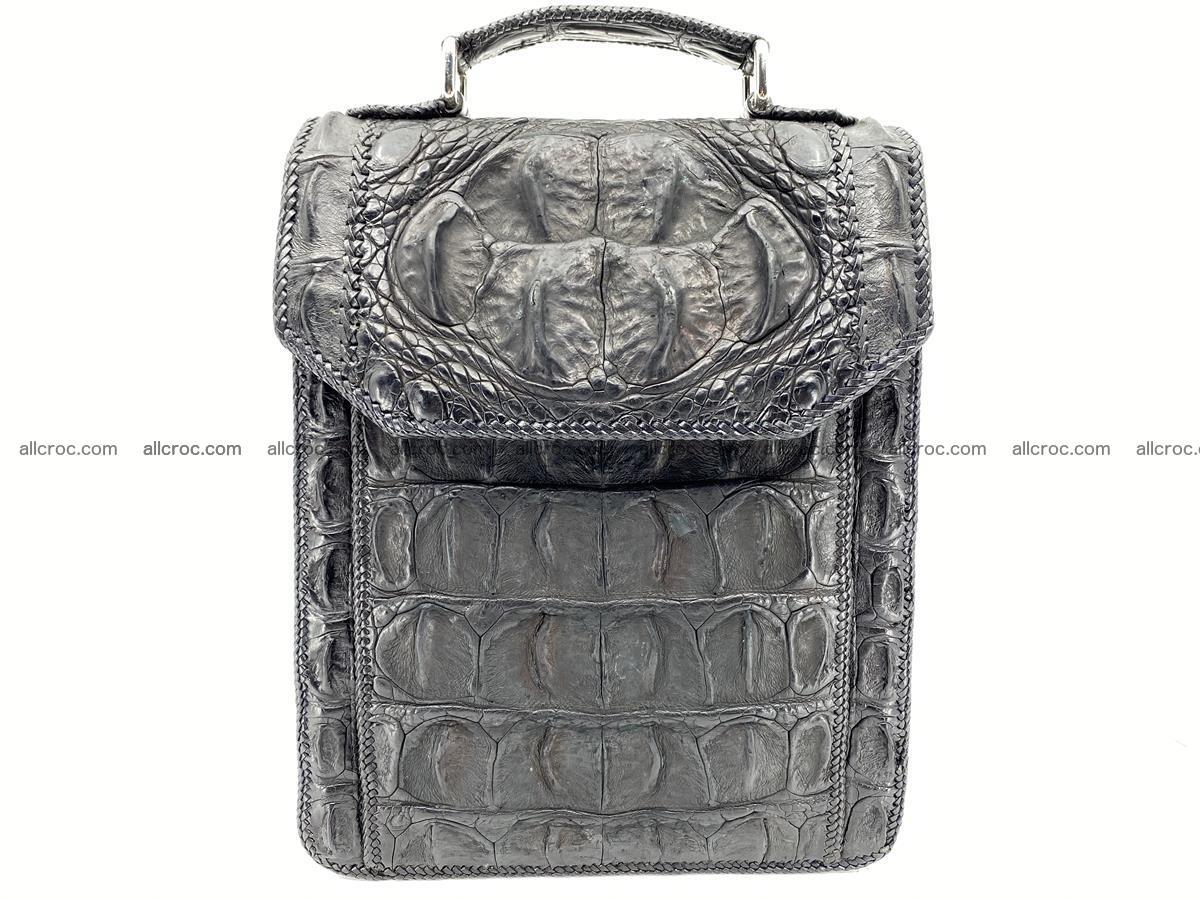 Crocodile leather handbag for men 900 Foto 0