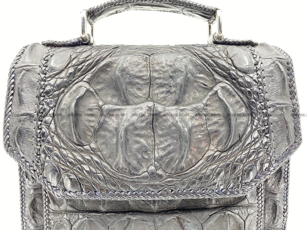 Crocodile leather handbag for men 900 Foto 2