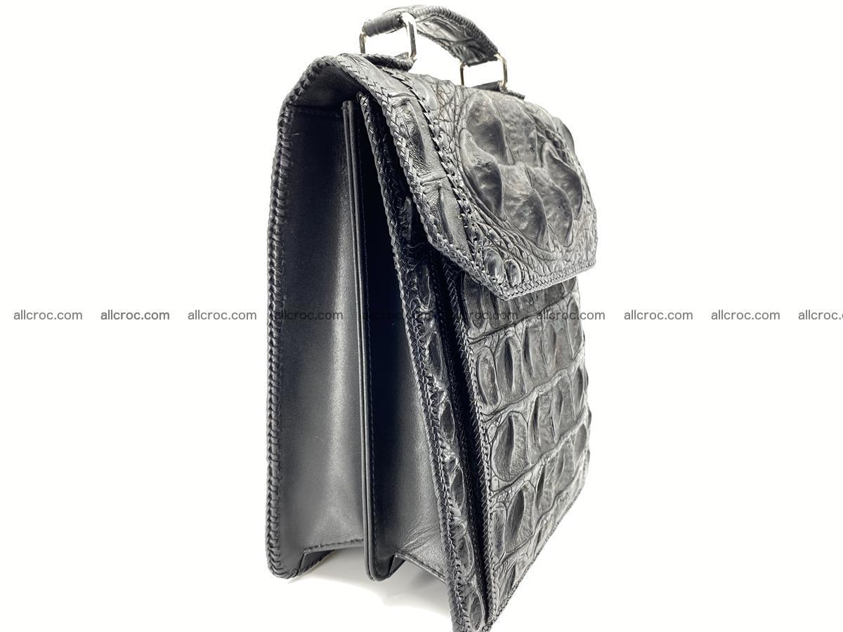 Crocodile leather handbag for men 900 Foto 8