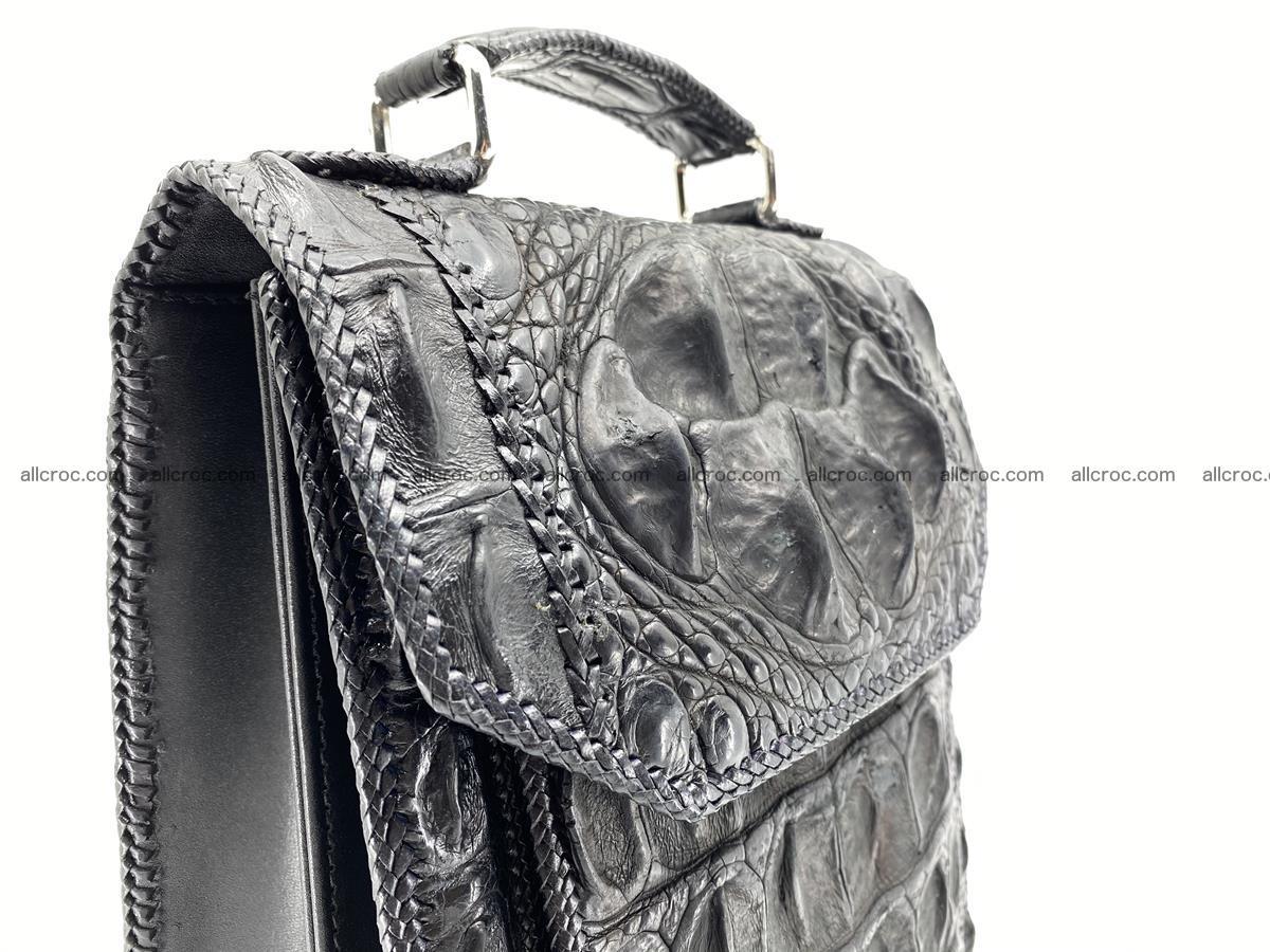 Crocodile leather handbag for men 900 Foto 3