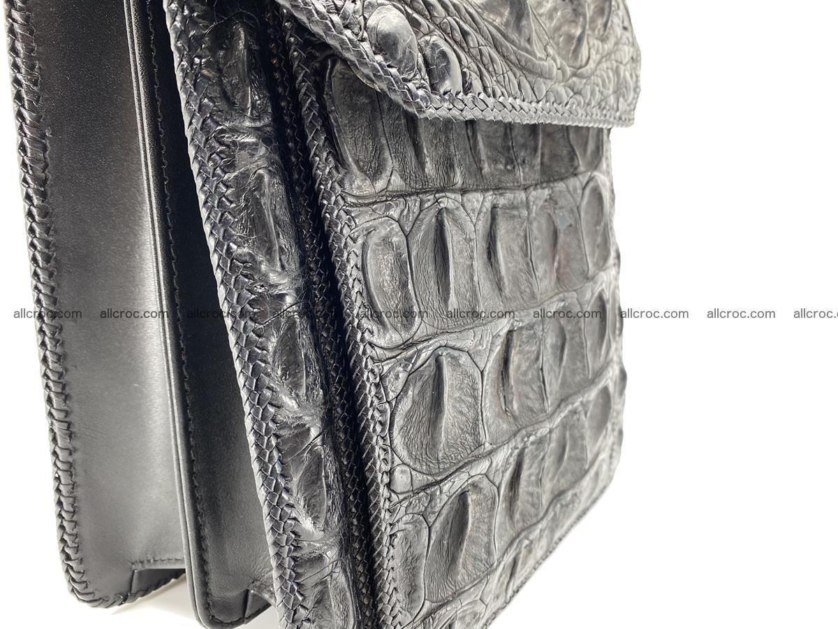 Crocodile leather handbag for men 900 Foto 4
