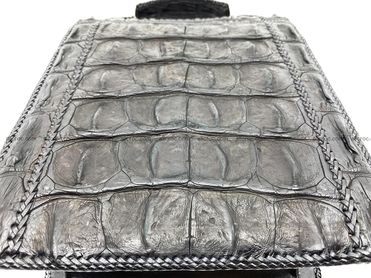 Crocodile leather handbag for men 900 Foto 5