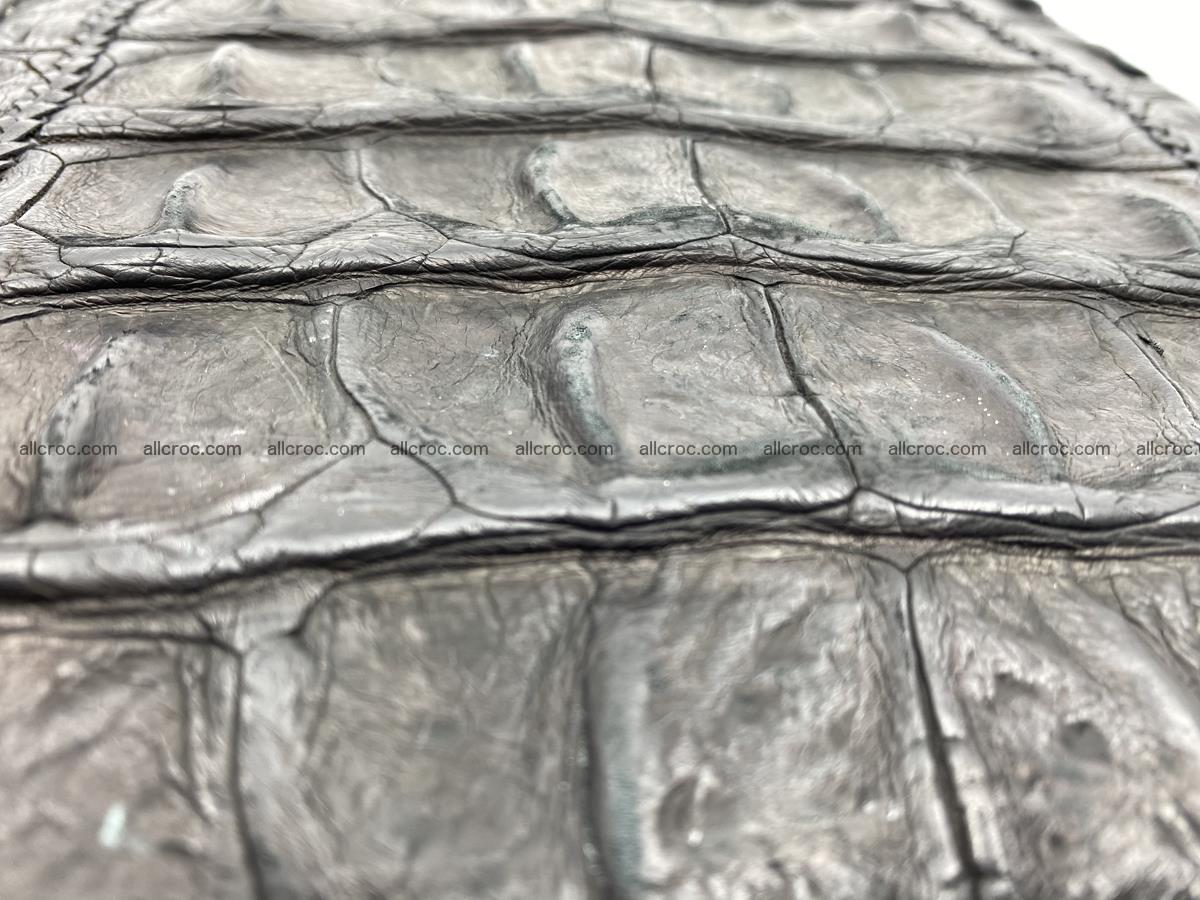 Crocodile leather handbag for men 900 Foto 6