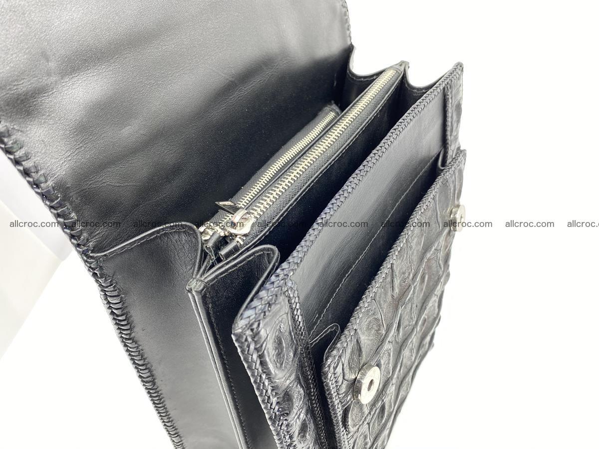 Crocodile leather handbag for men 900 Foto 9