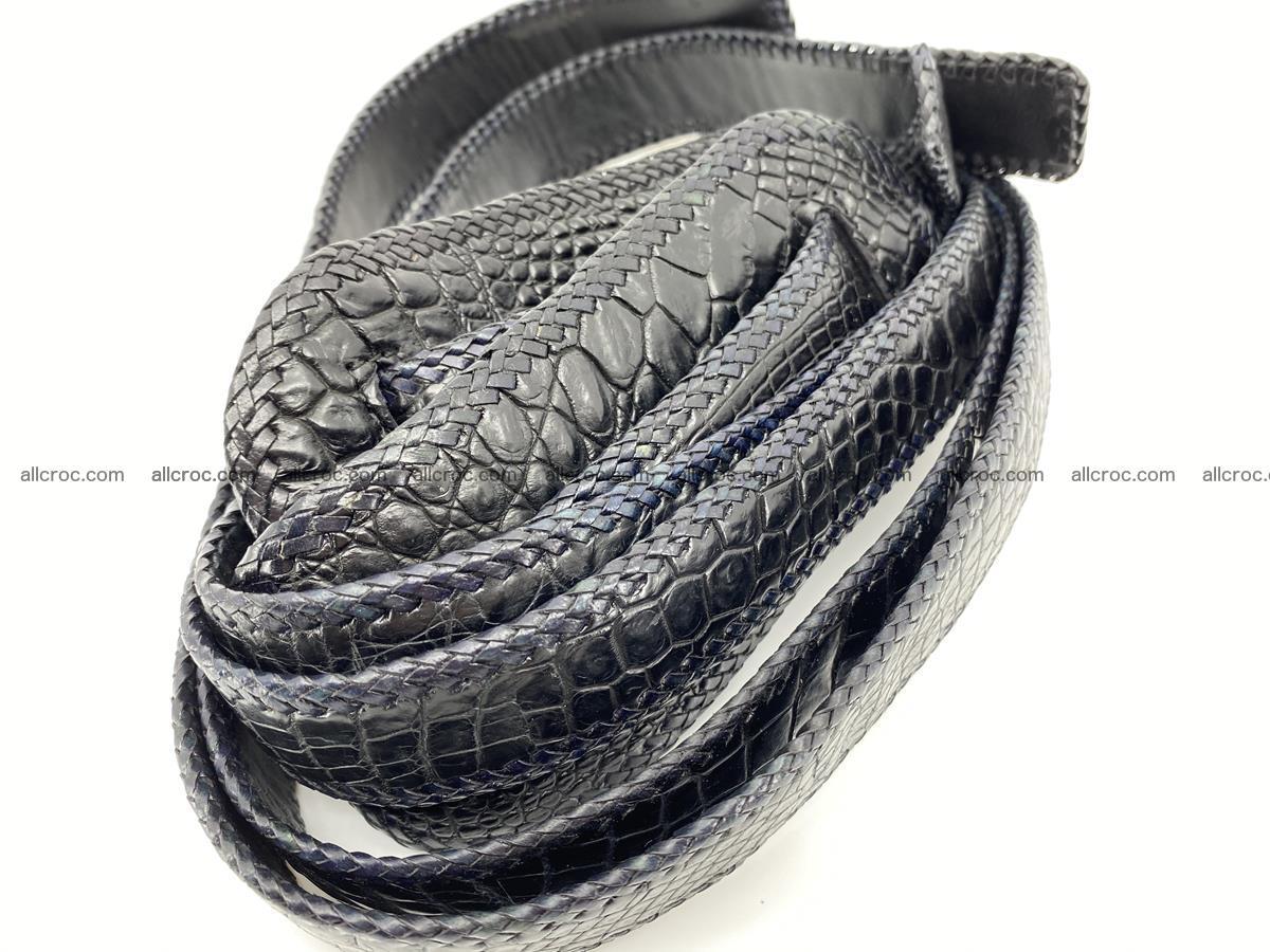 Crocodile leather handbag for men 900 Foto 13