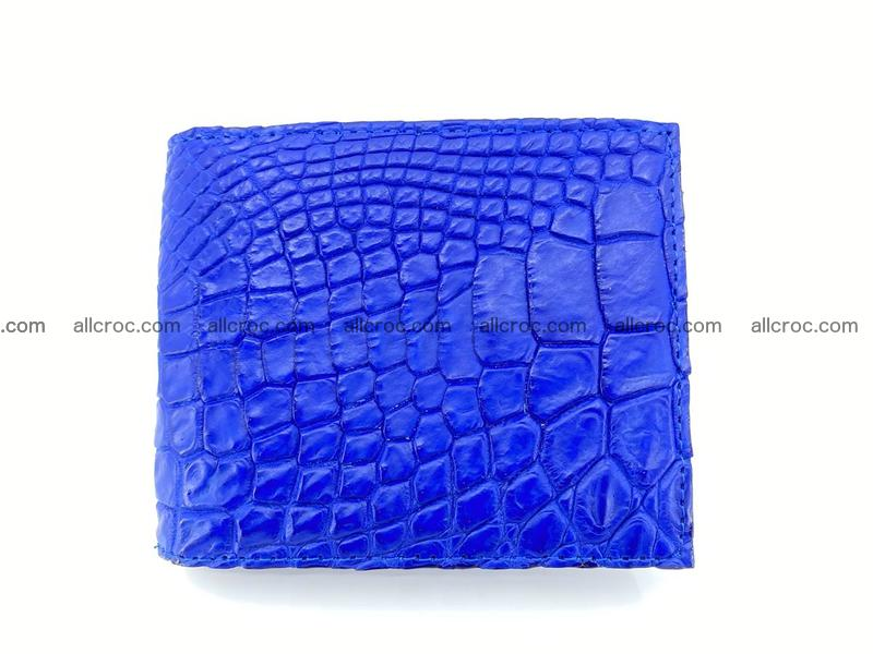Crocodile leather money clip 946