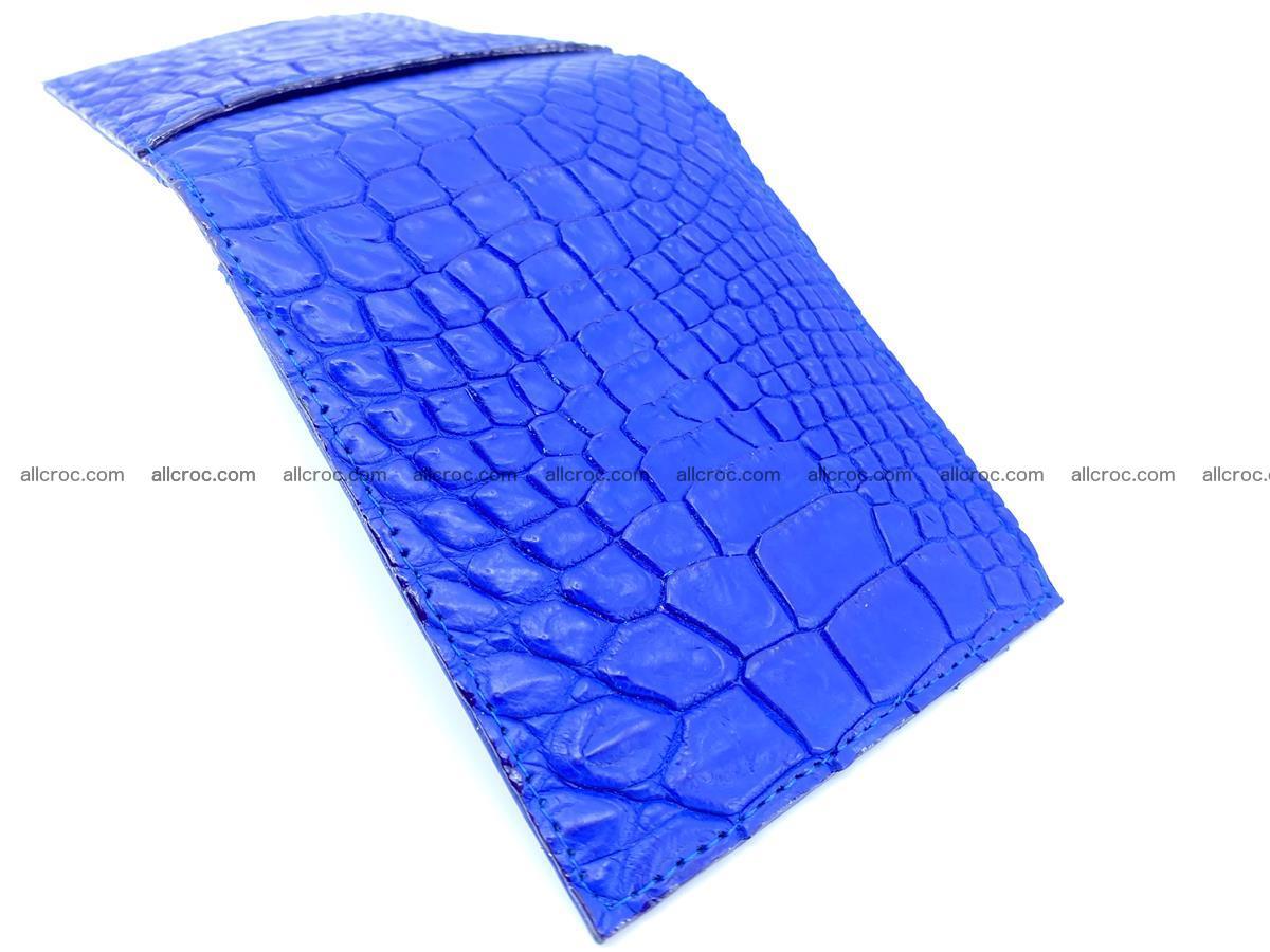 Crocodile leather money clip 946 Foto 2