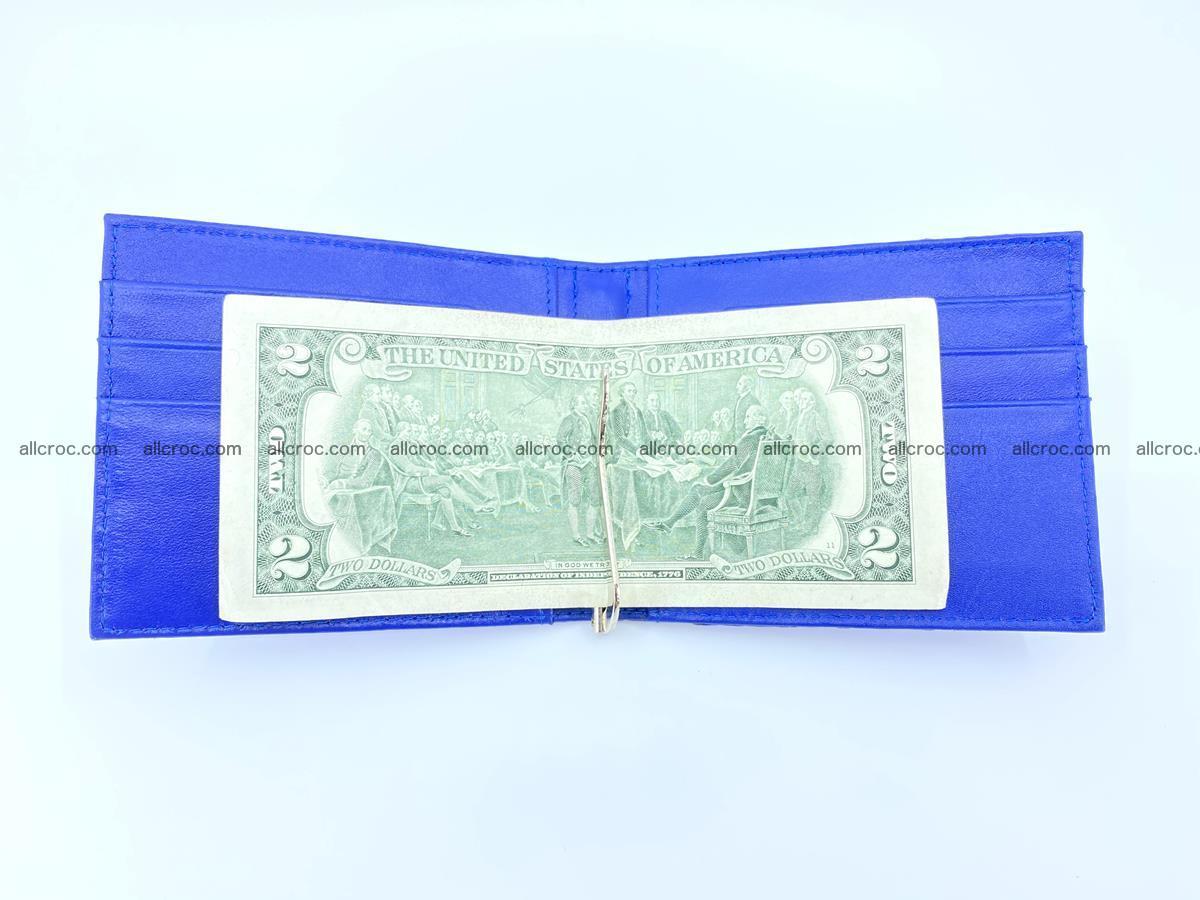 Crocodile leather money clip 946 Foto 4
