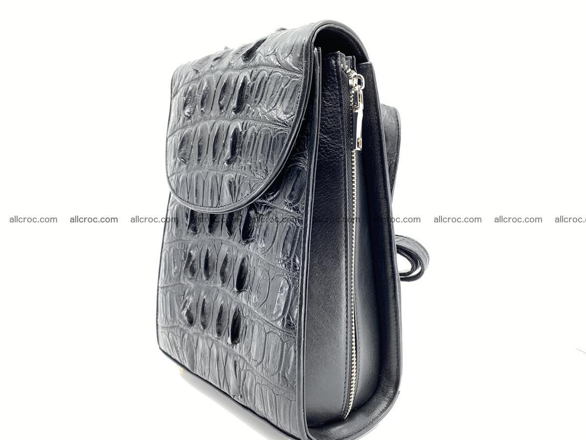 Crocodile skin backpack 892 Foto 2