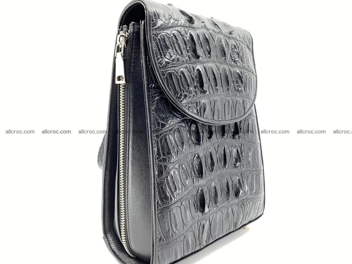 Crocodile skin backpack 892 Foto 3