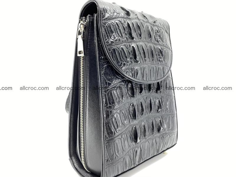 Crocodile skin backpack 892