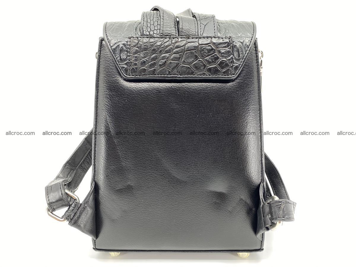 Crocodile skin backpack 892 Foto 11