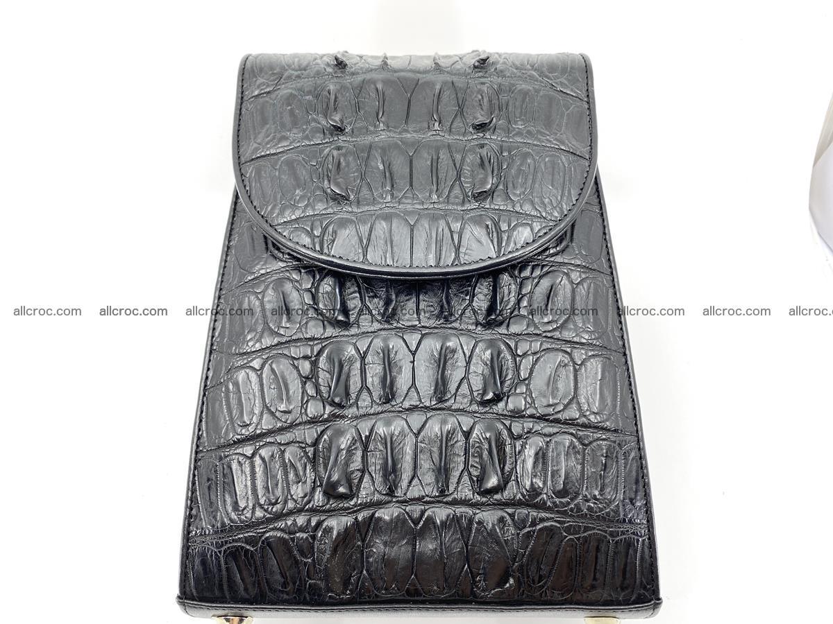 Crocodile skin backpack 892 Foto 1