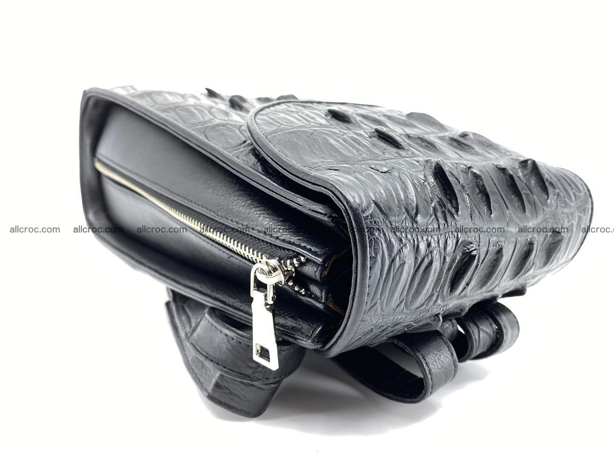 Crocodile skin backpack 892 Foto 5