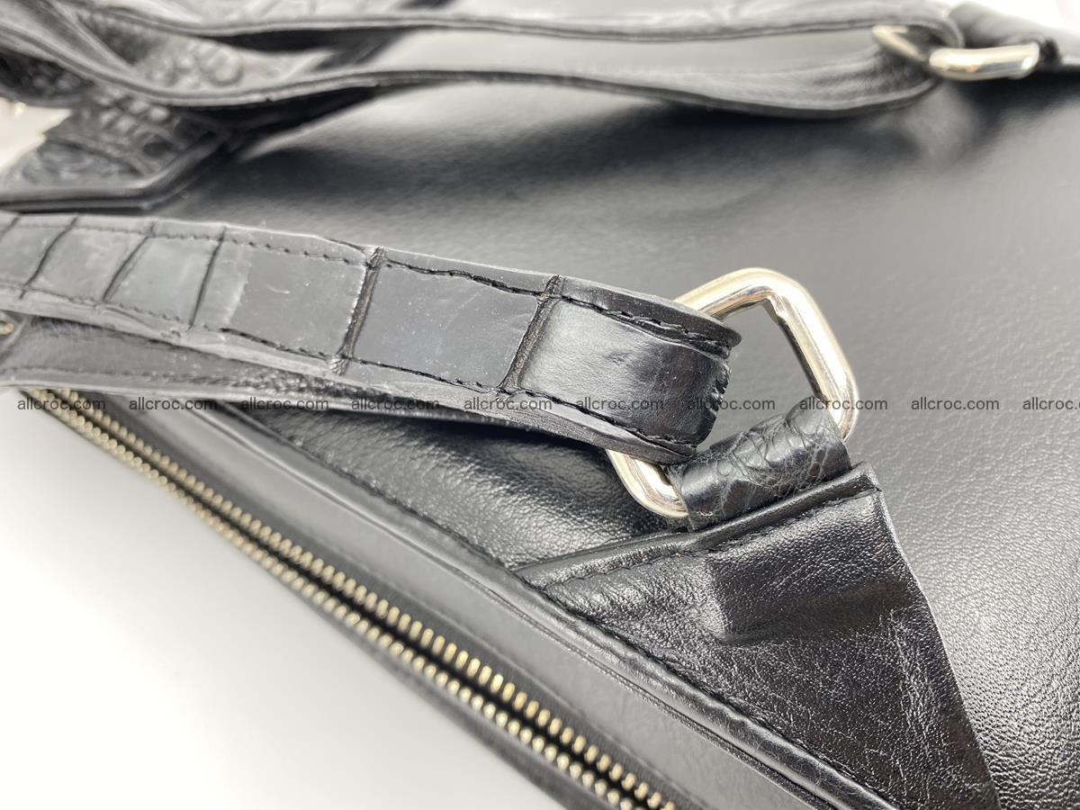 Crocodile skin backpack 892 Foto 12