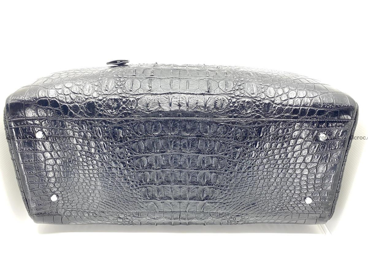 Crocodile skin duffle bag 916 Foto 8
