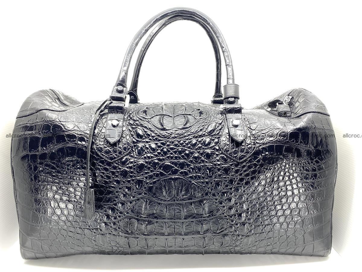 Crocodile skin duffle bag 916 Foto 0