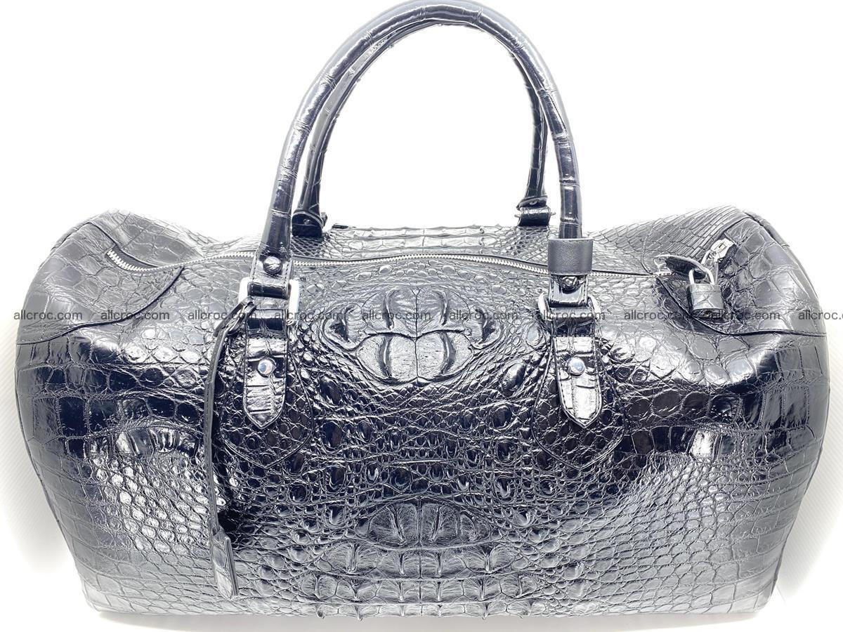 Crocodile skin duffle bag 916 Foto 1