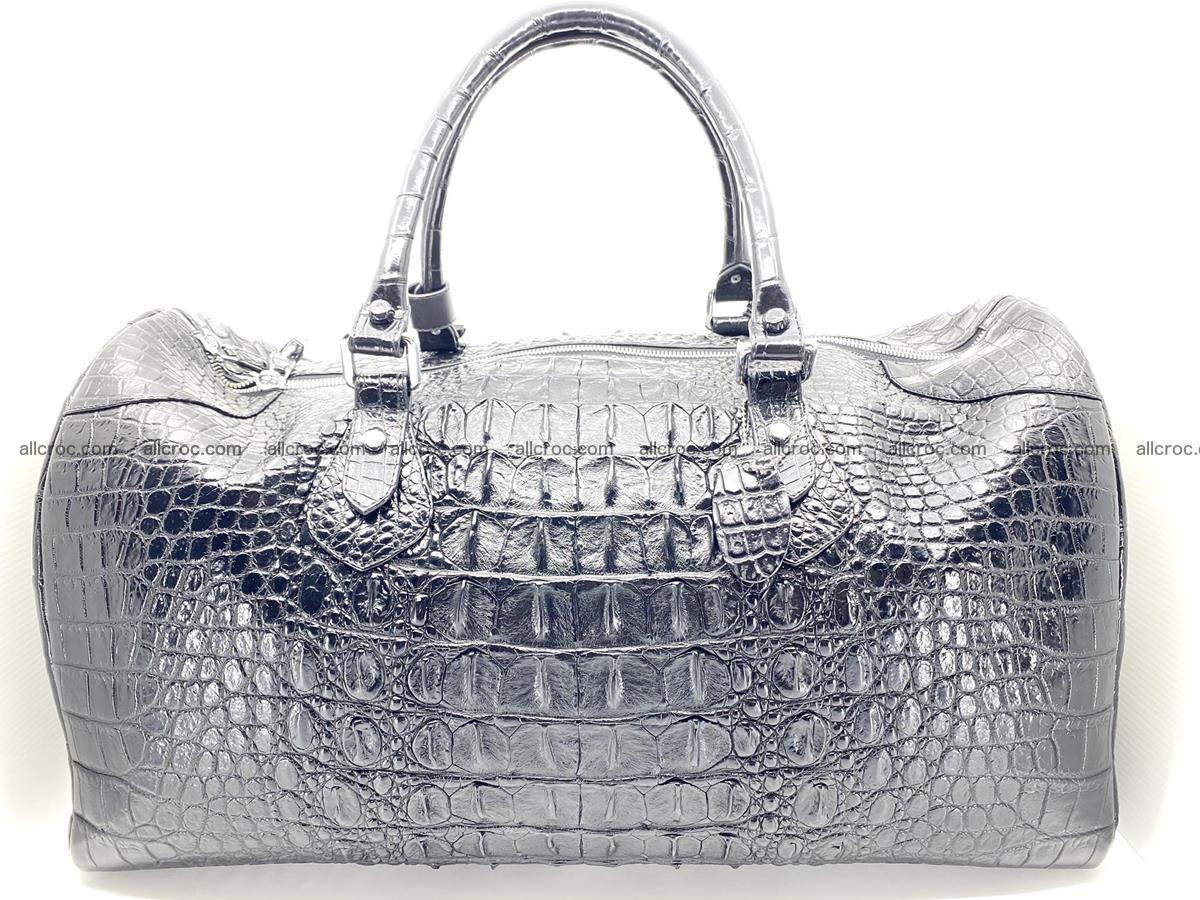 Crocodile skin duffle bag 916 Foto 2