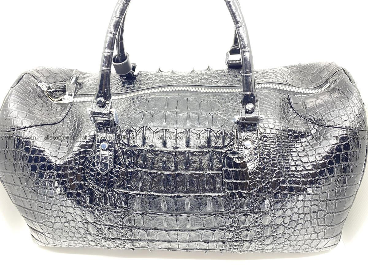 Crocodile skin duffle bag 916 Foto 3