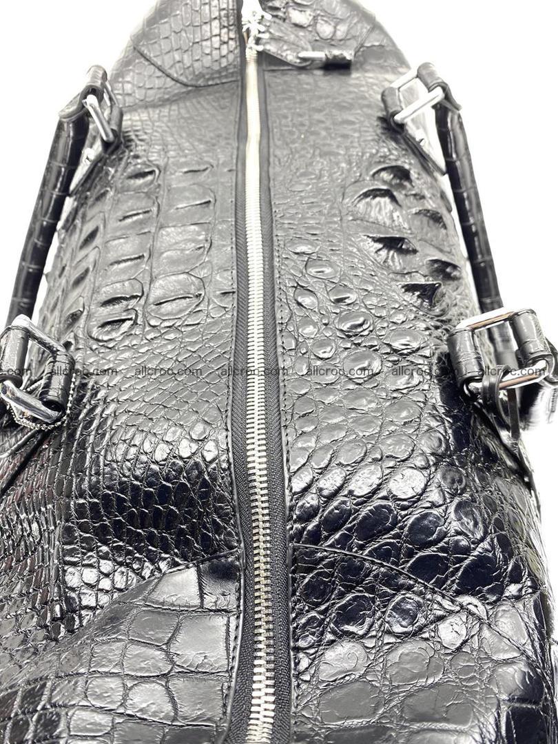 Crocodile skin duffle bag 916 Foto 6