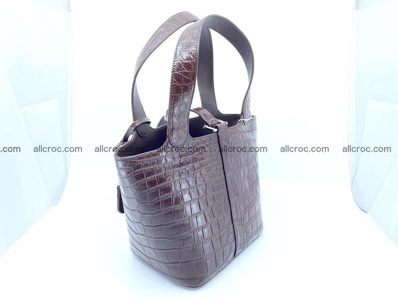 Crocodile skin handbag 924