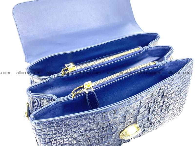 Crocodile skin handbag 923