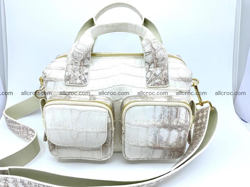 Crocodile skin handbag 926