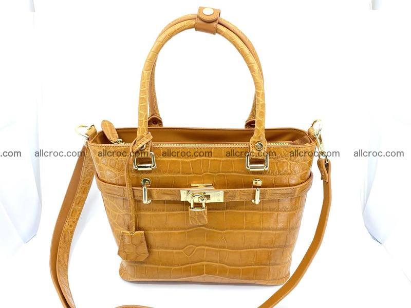 Crocodile skin handbag 920