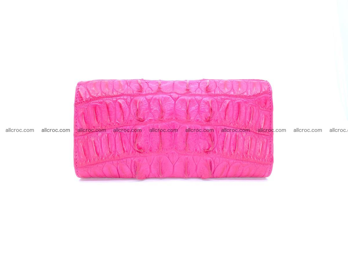 Crocodile skin long womens wallet 1017 Foto 1