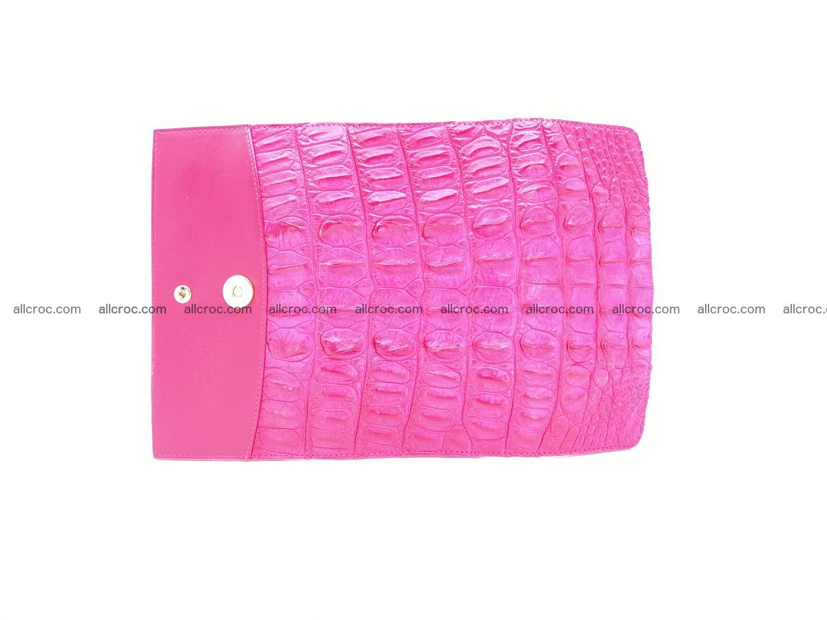 Crocodile skin long womens wallet 1017 Foto 8