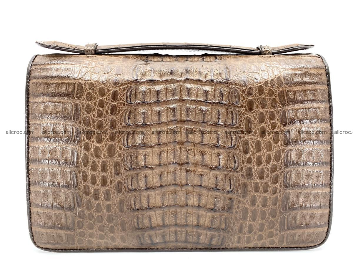 Crocodile skin men's handbag 915 Foto 1