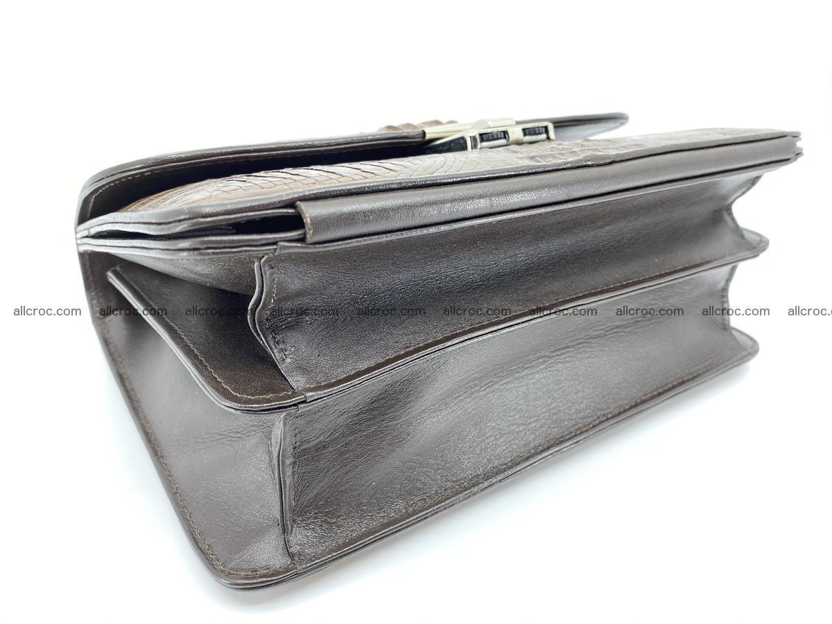 Crocodile skin men's handbag 915 Foto 5