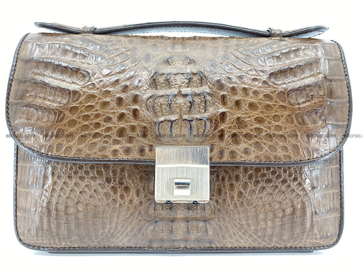 Crocodile skin men's handbag 915 Foto 0