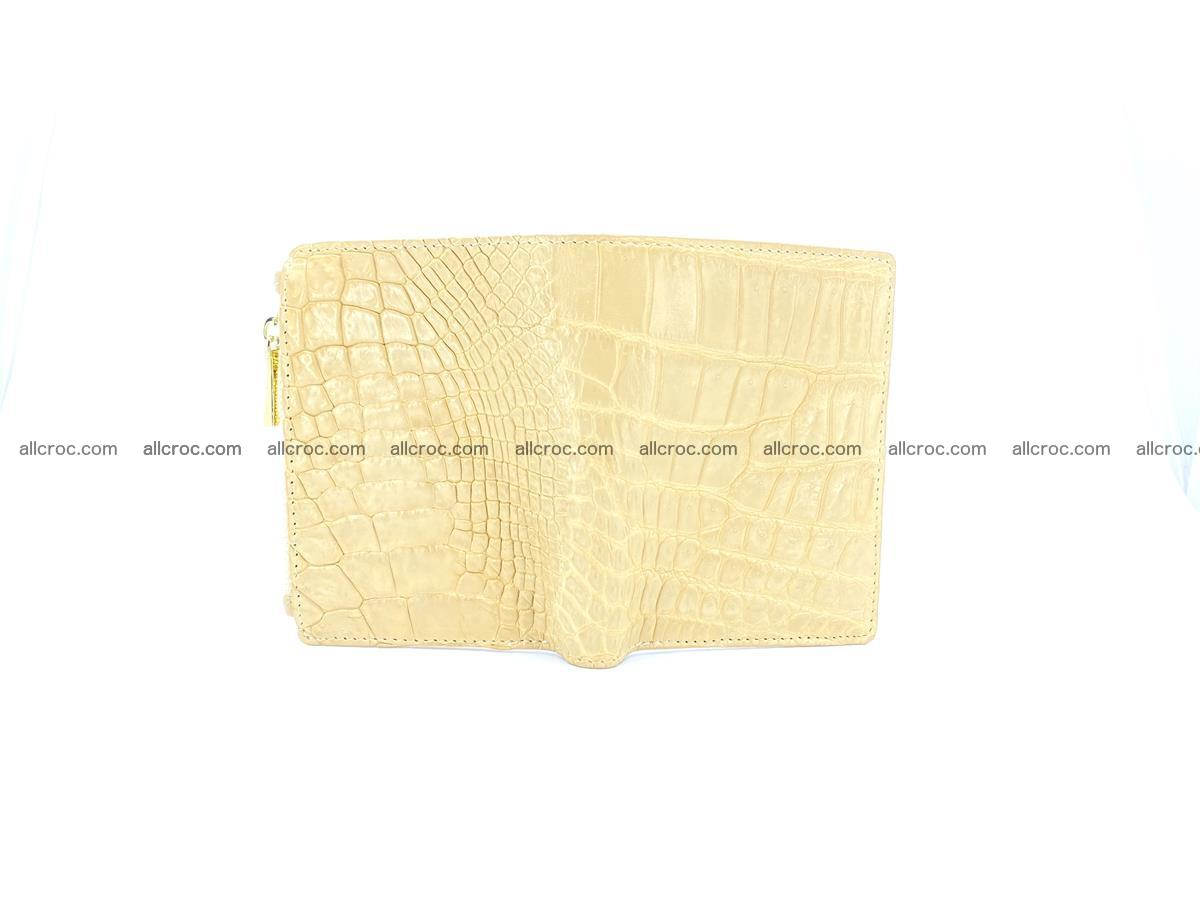 Crocodile skin vertical wallet HK 1041 Foto 2