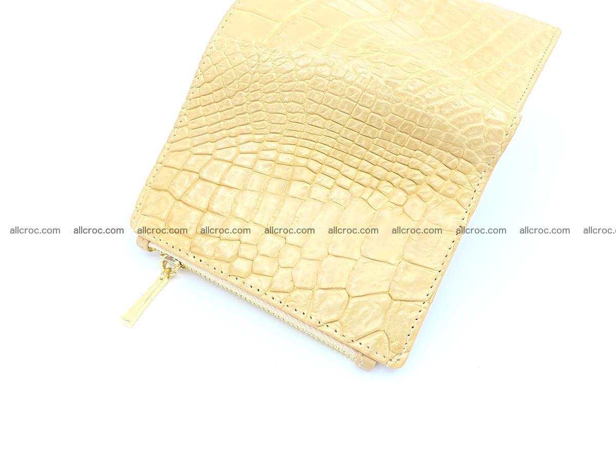 Crocodile skin vertical wallet HK 1041 Foto 3