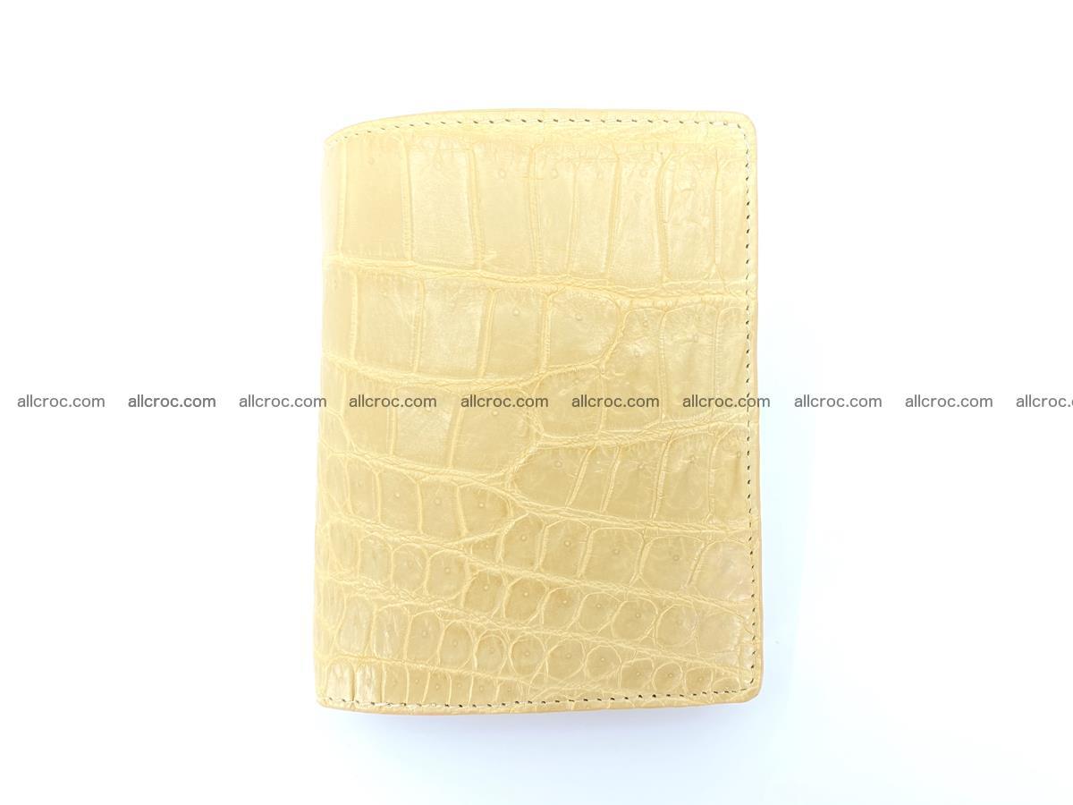 Crocodile skin vertical wallet HK 1041 Foto 0
