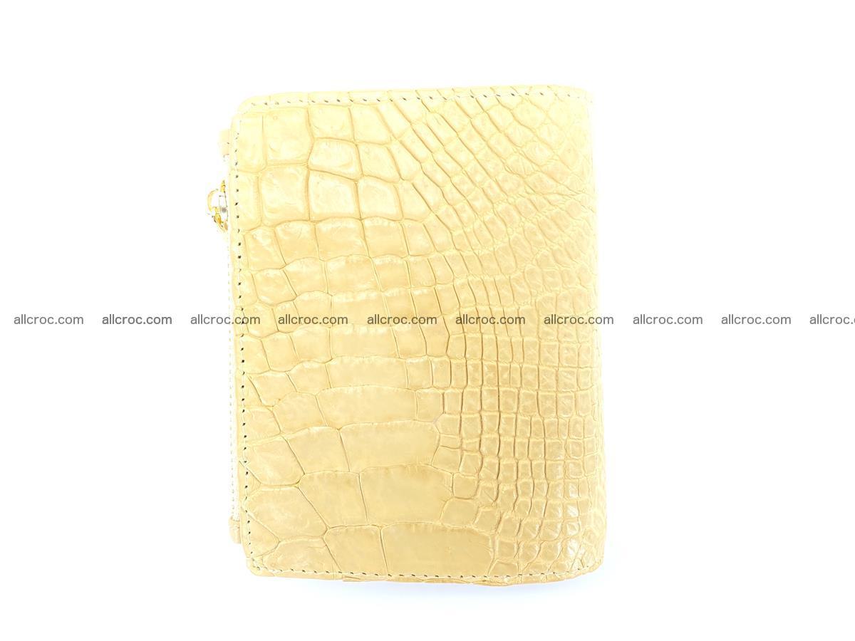 Crocodile skin vertical wallet HK 1041 Foto 1